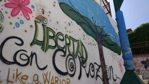 Taller de graffitti por la igualdad